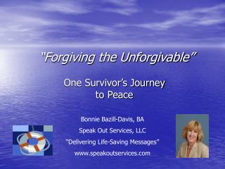 """Forgiving the Unforgivable"""