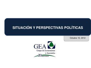 SITUACI�N Y PERSPECTIVAS POL�TICAS