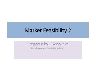 Market Feasibility 2