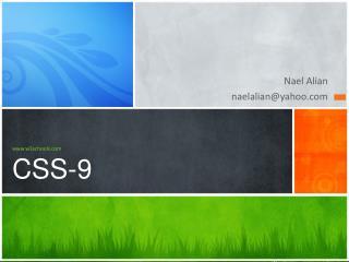 w3schools CSS-9