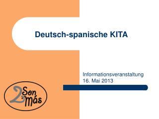 Deutsch-spanische KITA