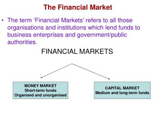 The Financial Market