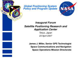 Global Positioning System  Policy and Program Update