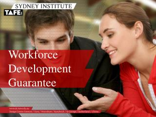 Workforce Development Guarantee