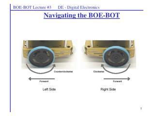 BOE-BOT Lecture #3      DE - Digital Electronics