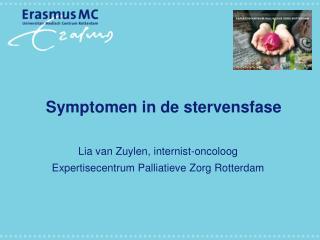 Symptomen in de stervensfase