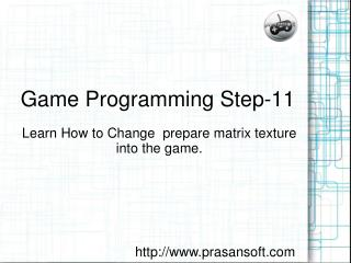 Game Programming Step-11
