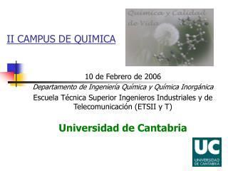 II CAMPUS DE QUIMICA