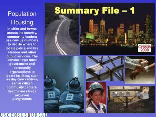 Summary File – 1