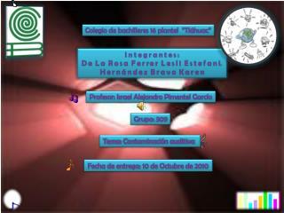 """Colegio de bachilleres 16 plantel  """"Tláhuac"""""""