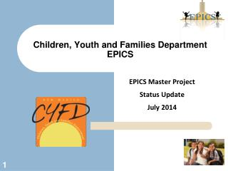 Children, Youth and Families Department EPICS