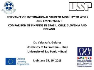 RELEVANCE OF  INTERNATIONAL STUDENT MOBILITY TO WORK AND EMPLOYMENT