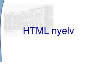 HTML nyelv