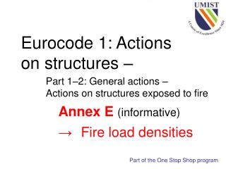 Eurocode 1: Actions on structures