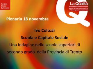 Plenaria 18 novembre