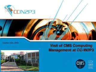 Visit of CMS Computing Management at CC-IN2P3