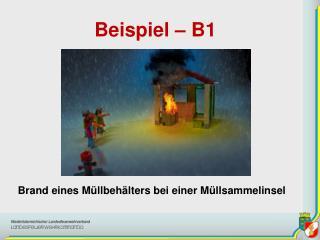 Beispiel – B1