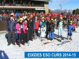 EIXIDES ESO CURS 2014-15