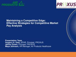 Maintaining a Competitive Edge:  Effective Strategies for Competitive Market Pay Analysis