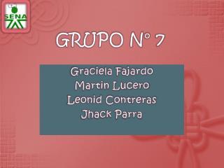 GRUPO N° 7