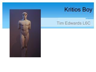 Kritios Boy