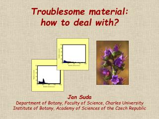 Troublesome material: how to deal with?