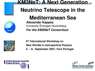 KM3NeT: A Next Generation  Neutrino Telescope in the Mediterranean Sea