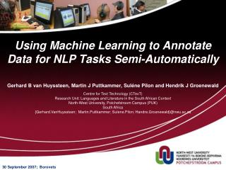 Using Machine Learning to Annotate Data for NLP Tasks Semi-Automatically
