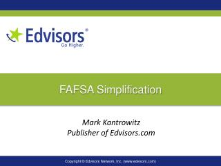 FAFSA Simplification