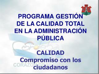 PROGRAMA GESTIÓN DE LA CALIDAD TOTAL EN LA ADMINISTRACIÓN  PÚBLICA
