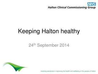 Keeping Halton  h ealthy