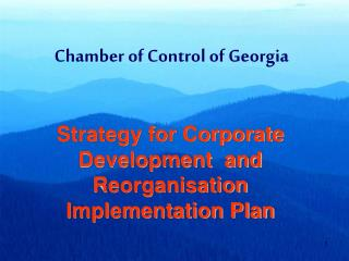 Chamber of Control of Georgia