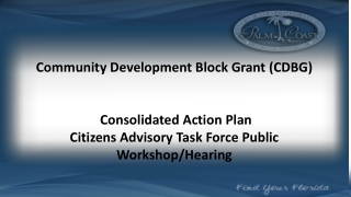CONSOLIDATED PLAN WORKSHOP