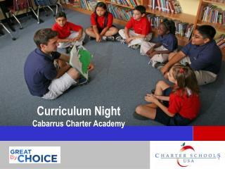 Curriculum Night Cabarrus Charter Academy