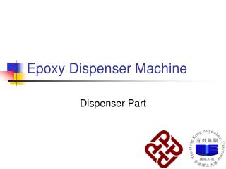 Epoxy Dispenser Machine