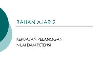 BAHAN AJAR 2