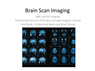 Brain Scan Imaging