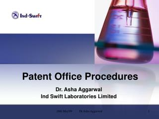 Patent Office Procedures