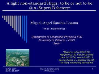 Miguel-Angel Sanchis-Lozano