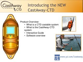 Introducing the NEW CastAway-CTD