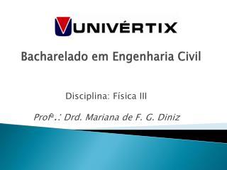 Bacharelado em Engenharia Civil