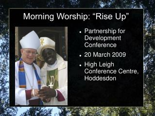 "Morning Worship: ""Rise Up"""