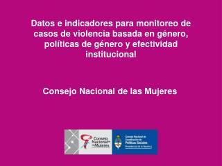Consejo Nacional de las Mujeres