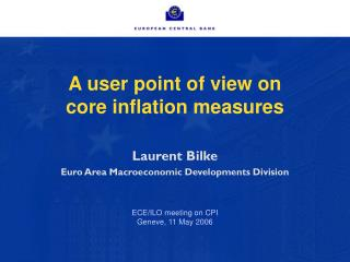 A user point of view on  core inflation measures