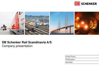 DB Schenker Rail Scandinavia A/S