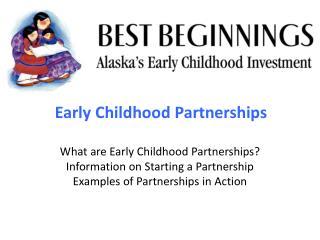 Early Childhood Partnerships