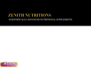 Zenith Nutrition Acai Berry