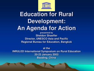 Challenges in Rural Areas in Asia