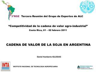 3ªRGE Tercera Reunión del Grupo de Expertos de ALC