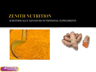 Zenith Nutrition Turmeric and Curcumin
